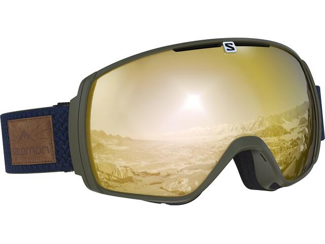 Salomon XT One Goggles Olive Night